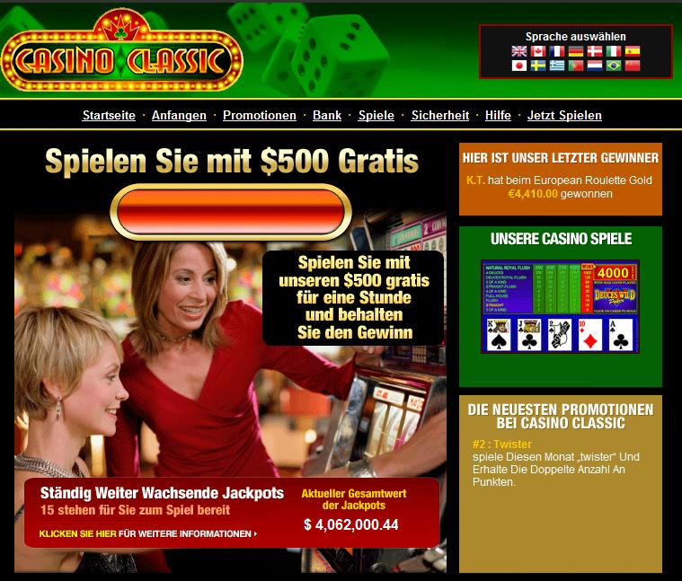 de online casino crazy cash points gutschein
