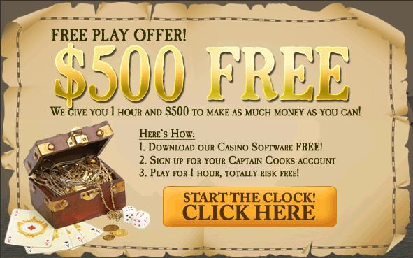 Captain Cooks Casino En Ligne