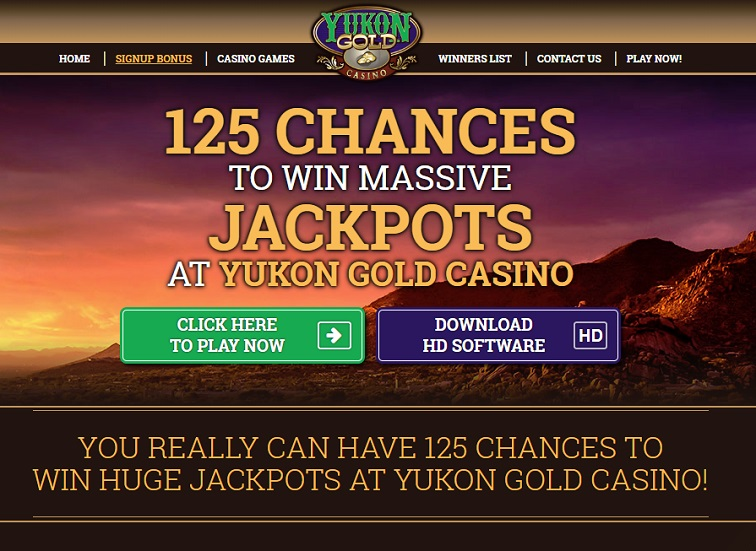 Casino Rewards Yukon Gold